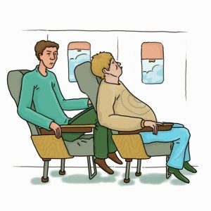 Airplane-seat-no-legroom