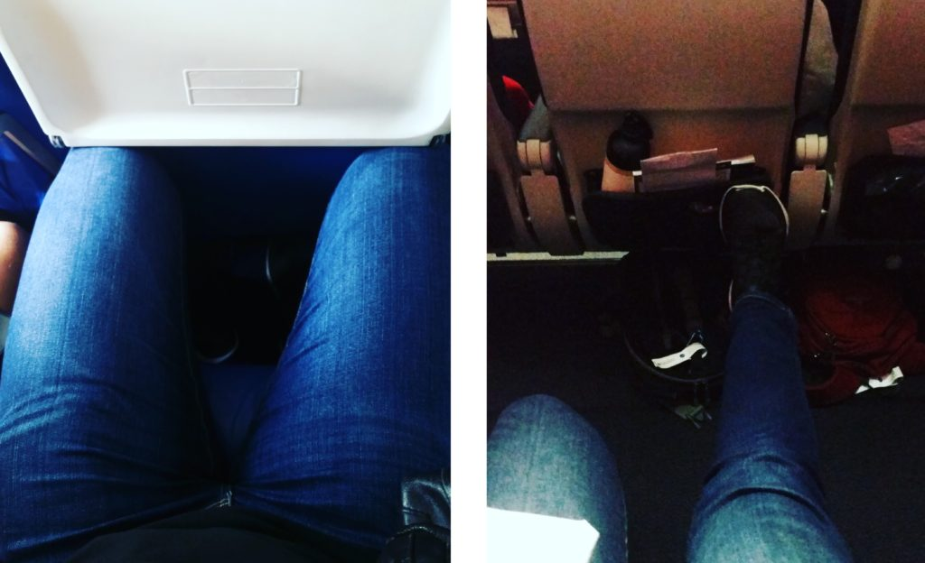 airplane seats - good vs bad seat