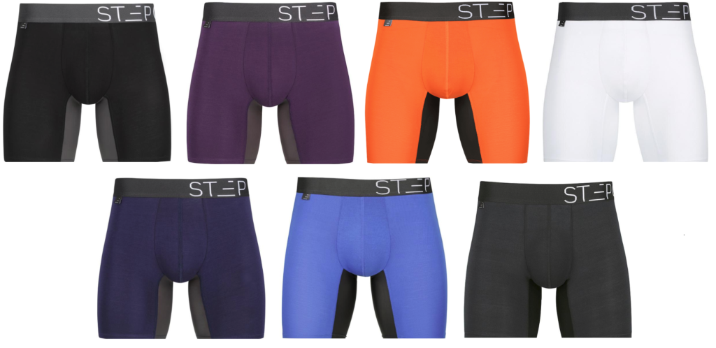 Step One Bamboo Underwear - Colour Choices