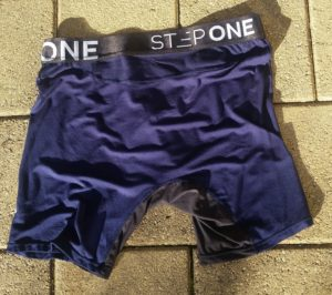 Step One Bamboo Underwear - Navy Back